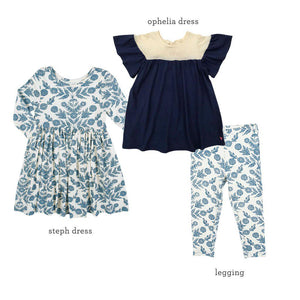 Pink Chicken Marigold Blues Set 2y