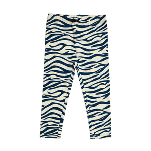 Pink Chicken Organic Legging 2Y dress blues zebra