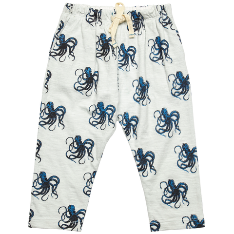 Pink Chicken James Pant 3/6m wan blue octopus - 18sbrn203a