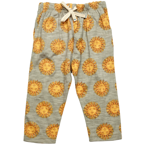 Pink Chicken James Pant 3/6m oil green sun - 18sbr203b