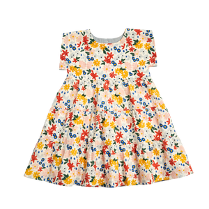 Pink Chicken Peachy Dress 2Y multi floral