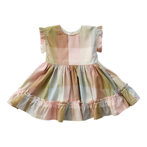 Pink Chicken Niley Dress 2Y multi gingham