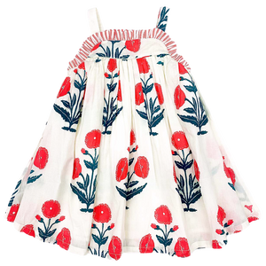 Pink Chicken Renata Dress 2y gardenia dandelion