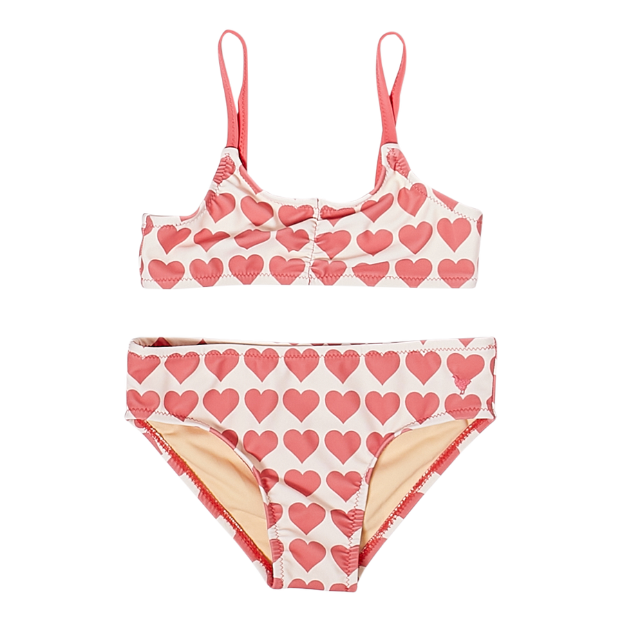 Pink Chicken Poppy Bikini 2Y rapture rose hearts