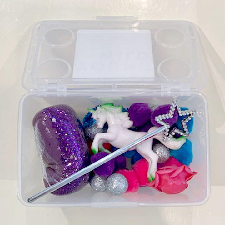 Pink Chicken Mini Sensory Play Kit - Unicorn
