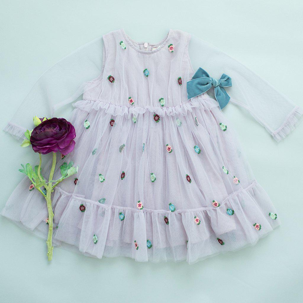 View larger version of Pink Chicken Sienne Dress 2y 19ffpc342b - lavender tulle