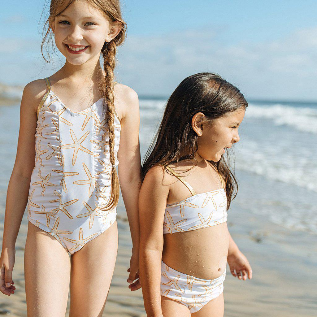View larger version of Pink Chicken Courtney 2-Piece Suit 2y inca gold starfish - 19rpcs103a