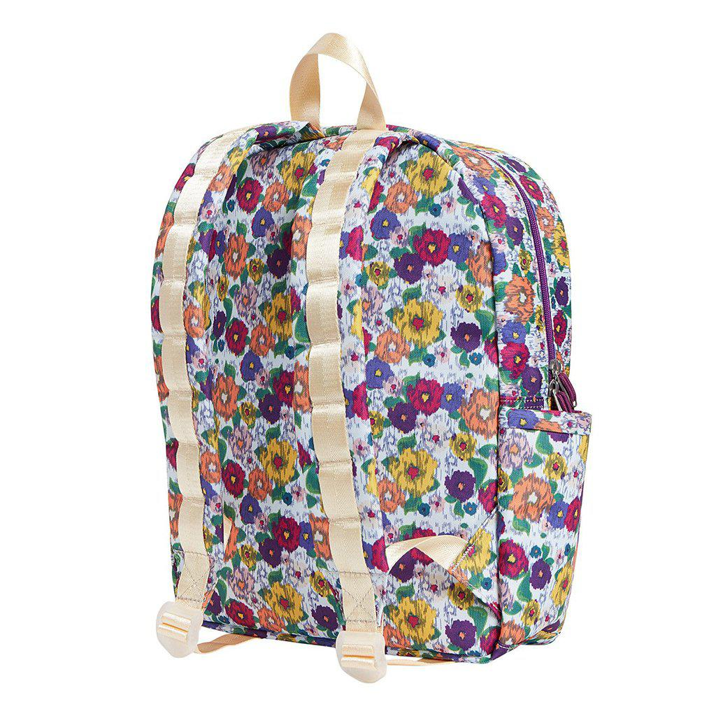 View larger version of Pink Chicken STATE Kane Backpack White/Multicolor Ikat
