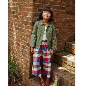 Pink Chicken Theodore Pant 2Y multi gingham