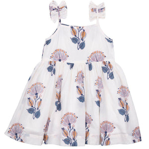Pink Chicken Tia Dress 2y gardenia feather floral - 19rpc363a
