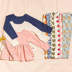 Pink Chicken Organic Bette Top 2Y antique white