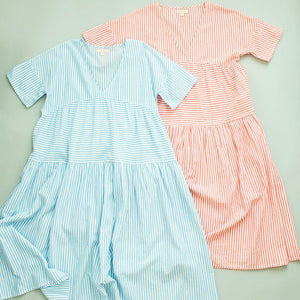 Pink Chicken Kit Dress XS riviera stripe