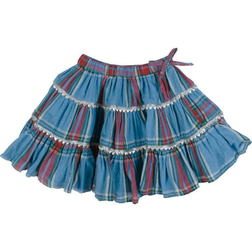View larger version of Pink Chicken Allie Skirt 2y riviera tartan - 19fpc214a