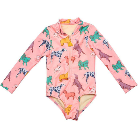 Pink Chicken Arden Suit 2y crystal rose dogs - 19spcs122b