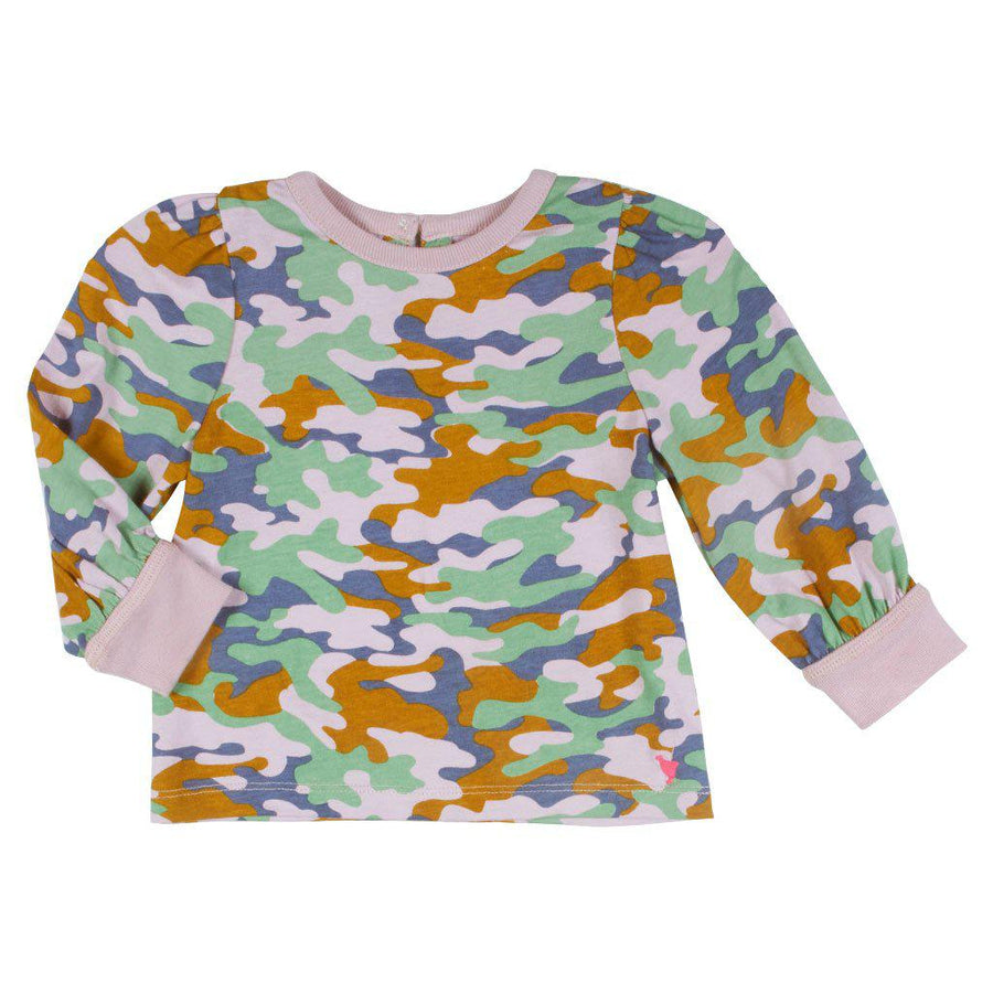 Pink Chicken Baby Kelsey Top 3/6m 19ffpcb547c - lavender multi camo