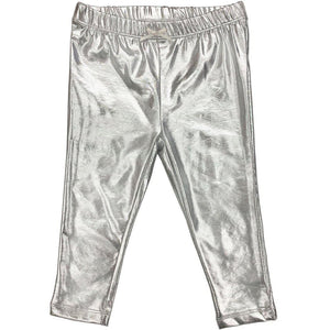 Pink Chicken Baby Lame Legging 3/6m 19ffpcb831f - silver lame
