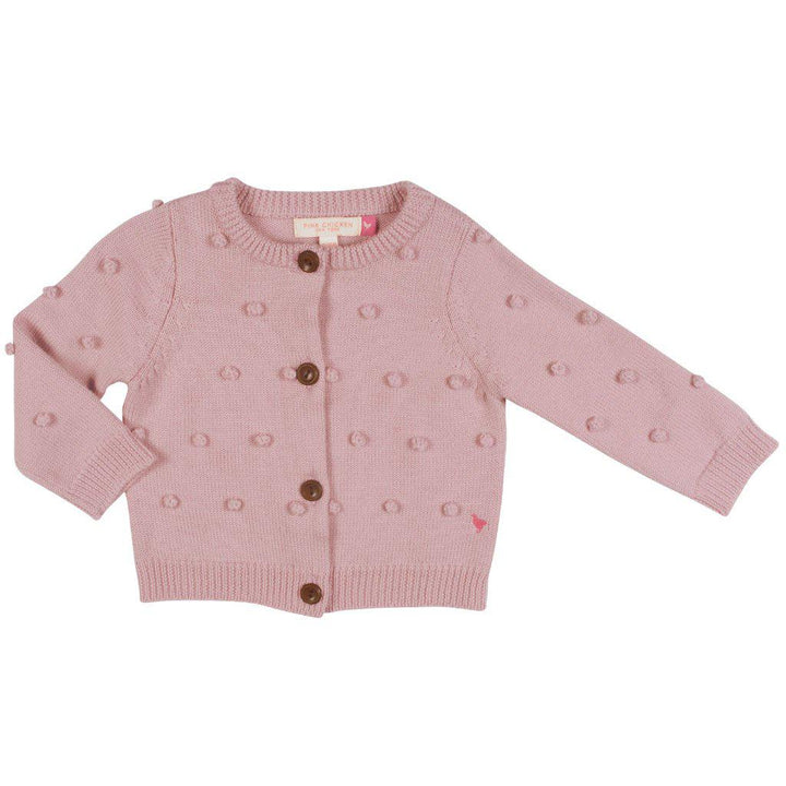 Pink Chicken Baby Maude Sweater 3/6m light pink - 19fpcb863a