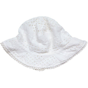 Pink Chicken Sun Hat 2/3y white - 18sspca130f