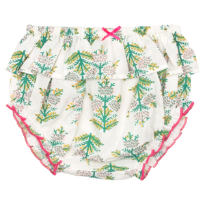 Pink Chicken Ruffle Diaper Cover XS/S gardenia jasmine tree