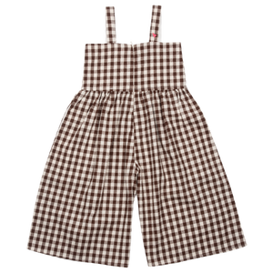 Pink Chicken Blake Jumper 2y brown gingham