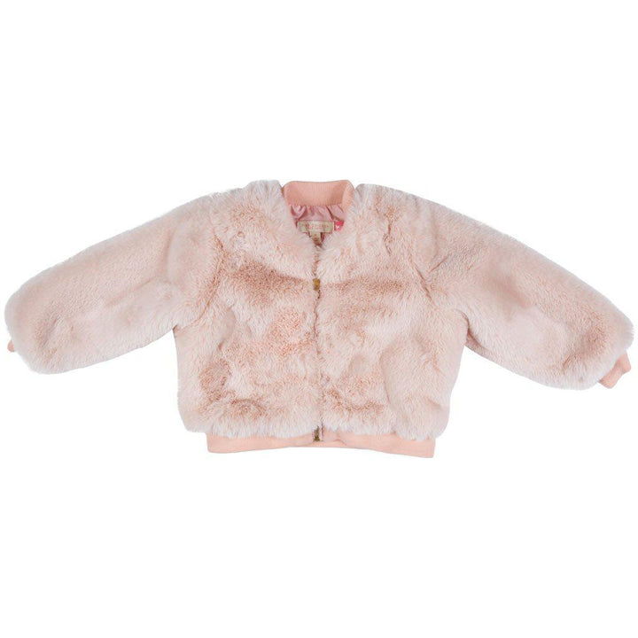 Pink Chicken Bomber Jacket 2y powder pink - 19ffpc324a
