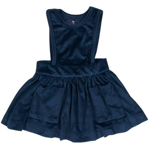 Pink Chicken Camille Jumper 2y navy velour - 19ffpc336a