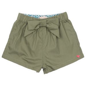 Pink Chicken Camp Bow Short 2y olive
