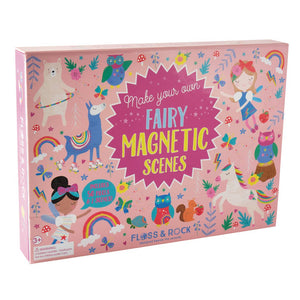 Pink Chicken Rainbow Fairy Magnetic Play Scenes
