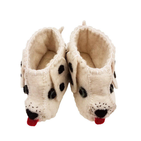 Dalmation Slippers