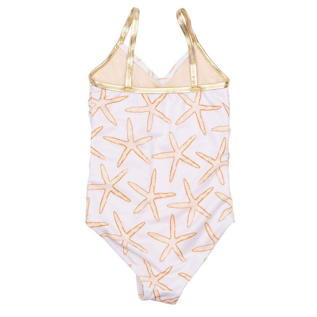 View larger version of Pink Chicken Baby Effie Suit 3/6m inca gold starfish - 19rpcb118a