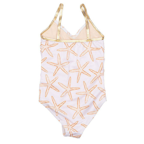 Pink Chicken Baby Effie Suit 3/6m inca gold starfish - 19rpcb118a