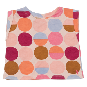Pink Chicken Finley Top 2y cloud pink multi dot