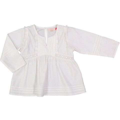 Pink Chicken Gabrielle Top 2y white - 18fpc271a