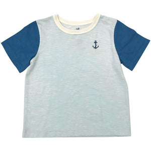 Pink Chicken Harry Colorblock T 2y wan blue/dark blue - 19sbr103g