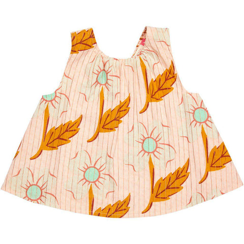 Pink Chicken Iggy Top 2y cloud pink diagonal flower - 19spc312a