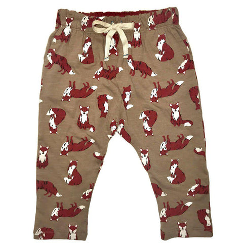 Pink Chicken James Pant 3/6m cinder fox - 18fbrb203b