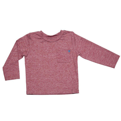 Pink Chicken Jared T 2y red heather - 18fbr111c