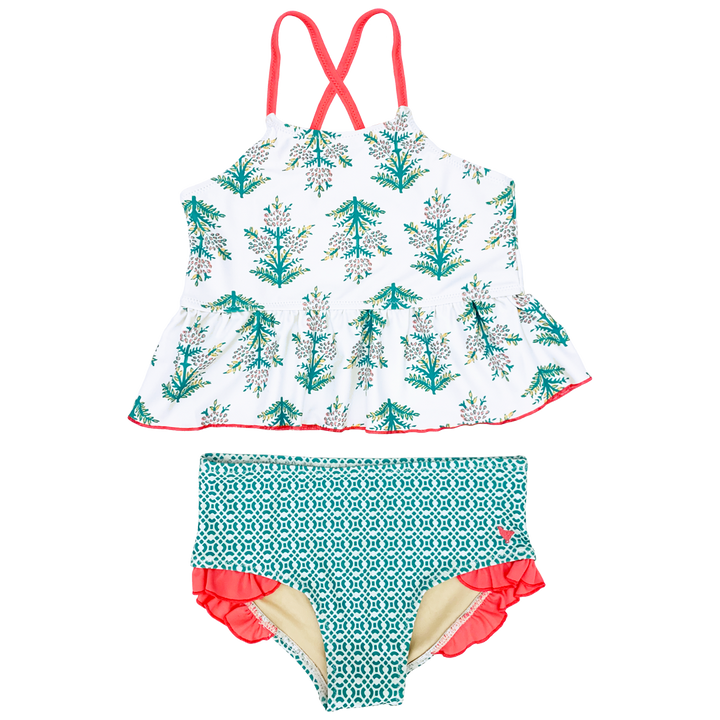 Pink Chicken Joy Tankini 2y gardenia jasmine tree