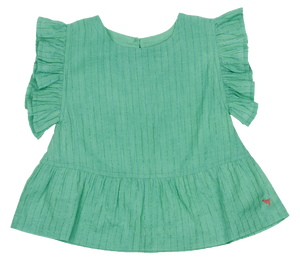 Pink Chicken Kit Top 2y dusty jade green - 20sspc376d
