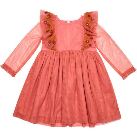 Pink Chicken Kylie Dress 2y powder pink - 19spc255a