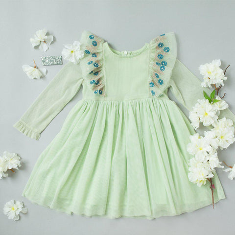 Pink Chicken Kylie Dress 2y bok choy - 19spc255b