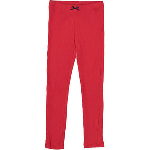 Pink Chicken Rib Legging 2y red - 18fpc503b