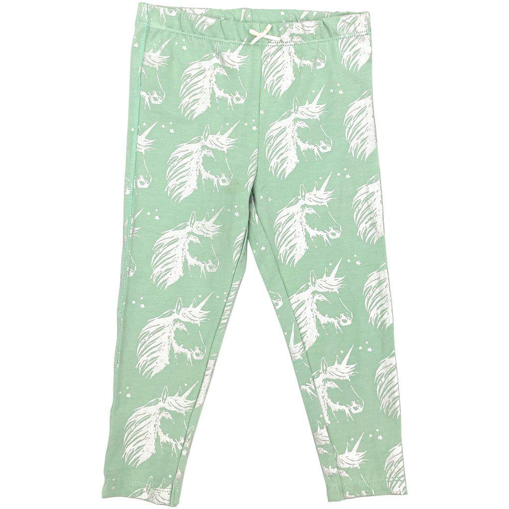 Pink Chicken Legging 2y silver unicorn - 19ffpc503o