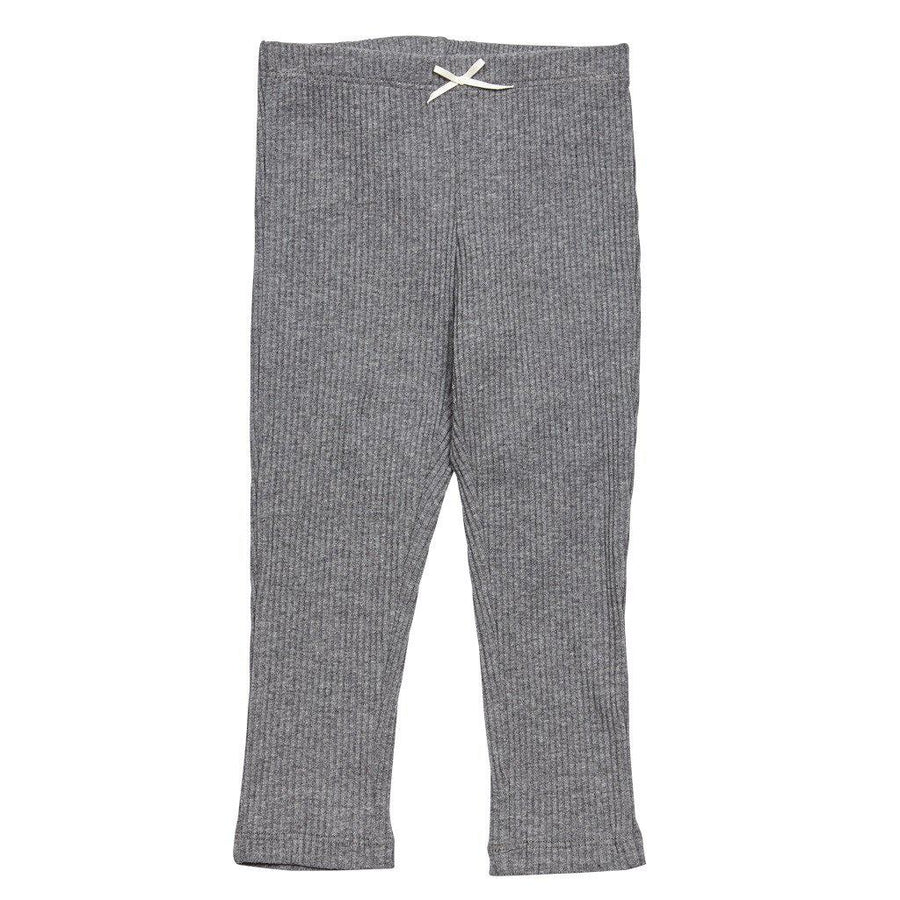 Pink Chicken Rib Legging 2y dark grey heather - 17fpc503j