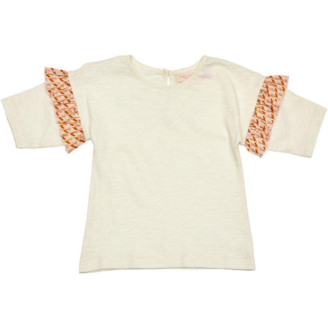 Pink Chicken Leigh Top 2y antique white - 19spc331a