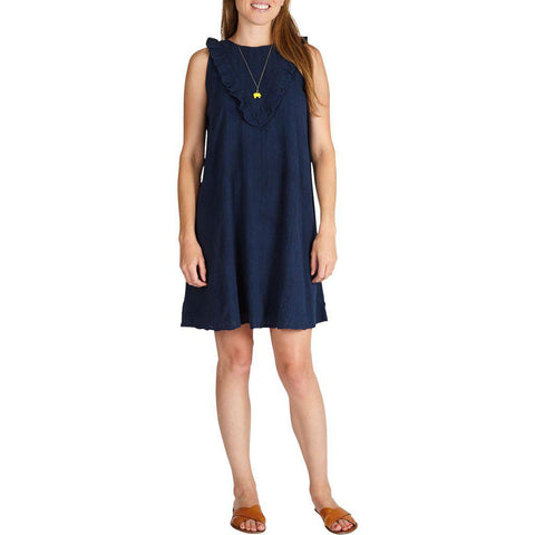 Pink Chicken Marly Dress XS dress blues - 19spcw197b