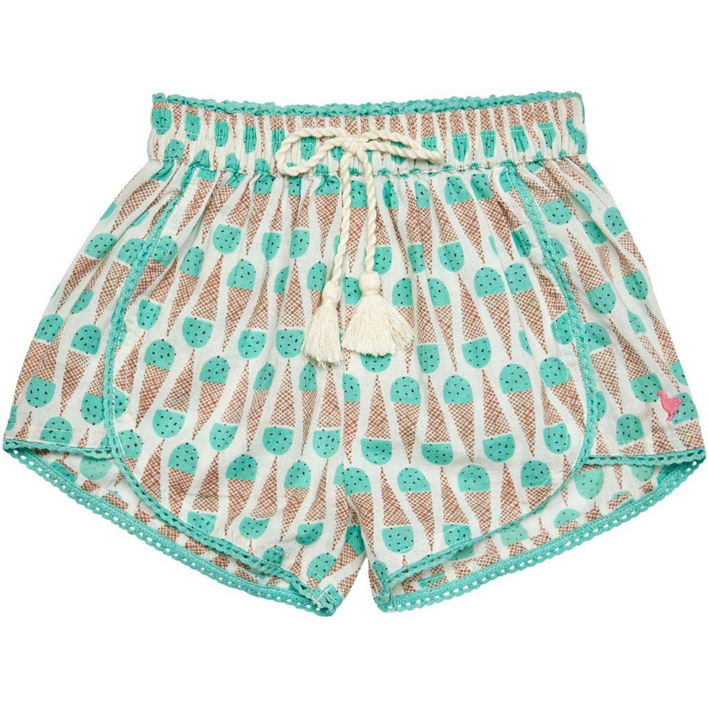 Pink Chicken Millie Short 2y mint chocolate chip - 19sspc224a