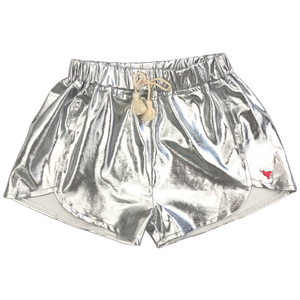 Pink Chicken Millie Metallic Short 2y silver