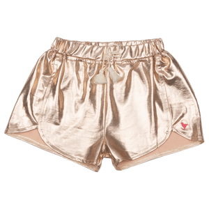 Pink Chicken Millie Metallic Short 2y rose gold
