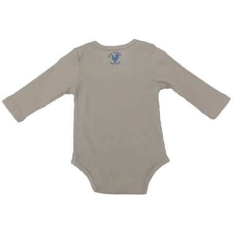 Pink Chicken Oliver Thermal Bodysuit 3/6m angora - 18fbrb210e